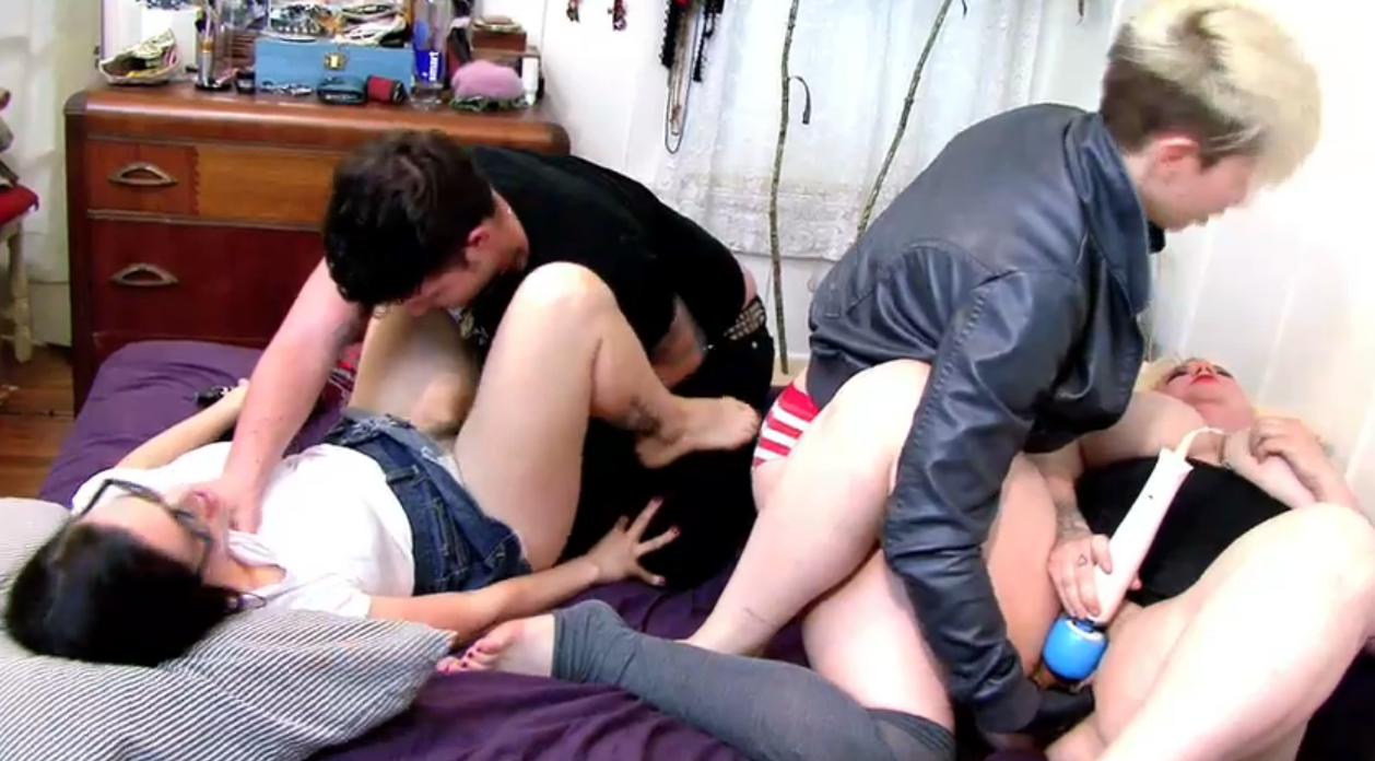 Cyd, Drew, Rusty, and Chastity