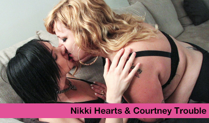 Trouble Gets Fucked by Nikki Hearts!