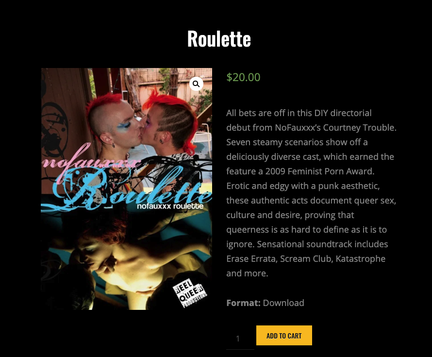 You Can Now Purchase Films Directly From Sinn Sage, Courtney Trouble, and Chelsea Poe Through TROUBLEfilm's new online shopping network.
