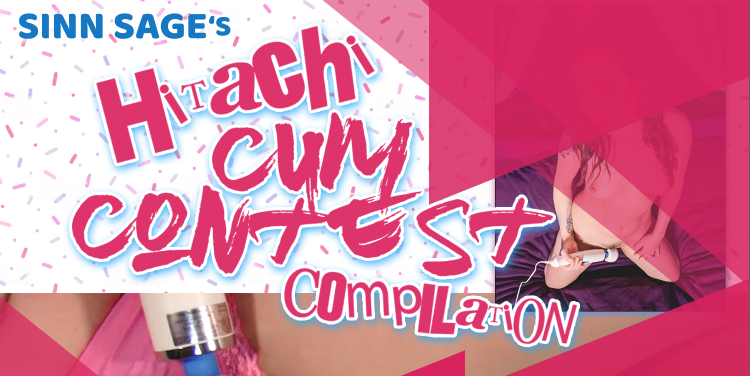 Out now, a new lesbian compilation Hitachi Cum Contest by Sinn Sage